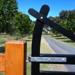 Blackwood Country Gates: Gate Hardware