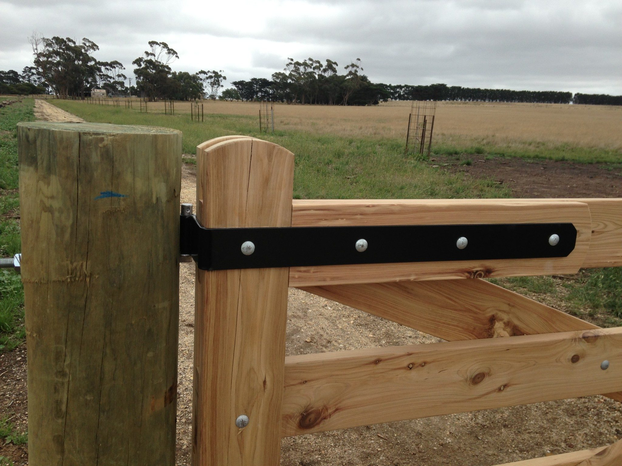 Gate Hardware Victoria Hinges Straps Blackwood Country Gates