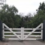 Custom Ranch Style Gate - Blackwood Country Gates